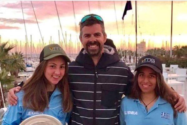 «Χρυσές» Παππά-Τσαμοπούλου στους διεθνείς αγώνες 420 Carnival Regatta