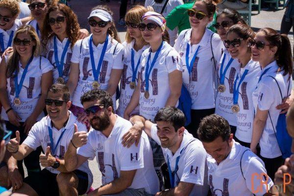 Ο Όμιλος Χατζηλαζάρου-H HOTELS τρέχει στον Μαραθώνιο Ρόδου