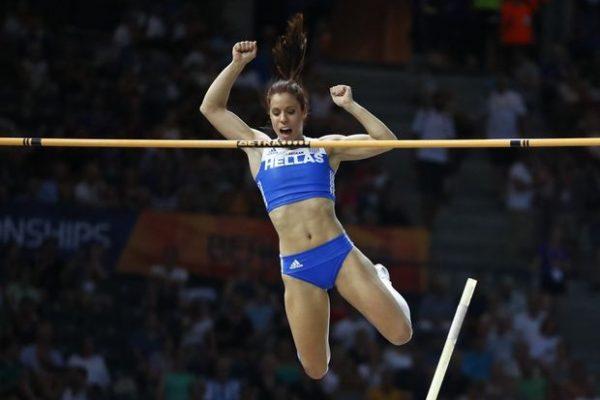 Η Στεφανίδη στην κορυφή του World Indoor Tour