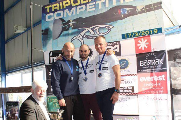Tripoli Apnea Competition 2019: Θέαμα και μεγάλες επιδόσεις