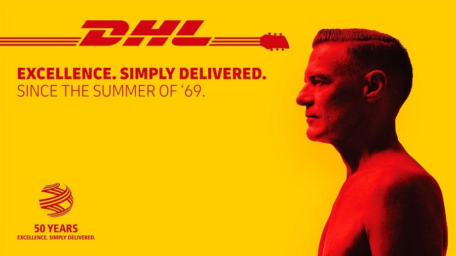 Ο Bryan Adams και η DHL ενώνουν τις δυνάμεις τους!