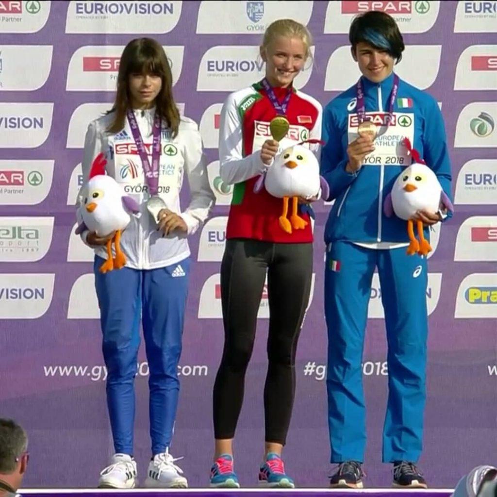 Η Ολγα Φιάσκα έπιασε το όριο για το Ευρωπαϊκό Πρωτάθλημα Κ20