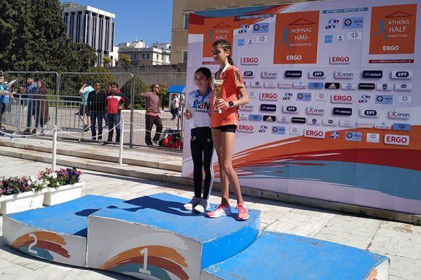 Χρήστος Παπούλιας και Ηλιάννα Χατζηπαναγιώτη νικητές στα 5 χλμ.