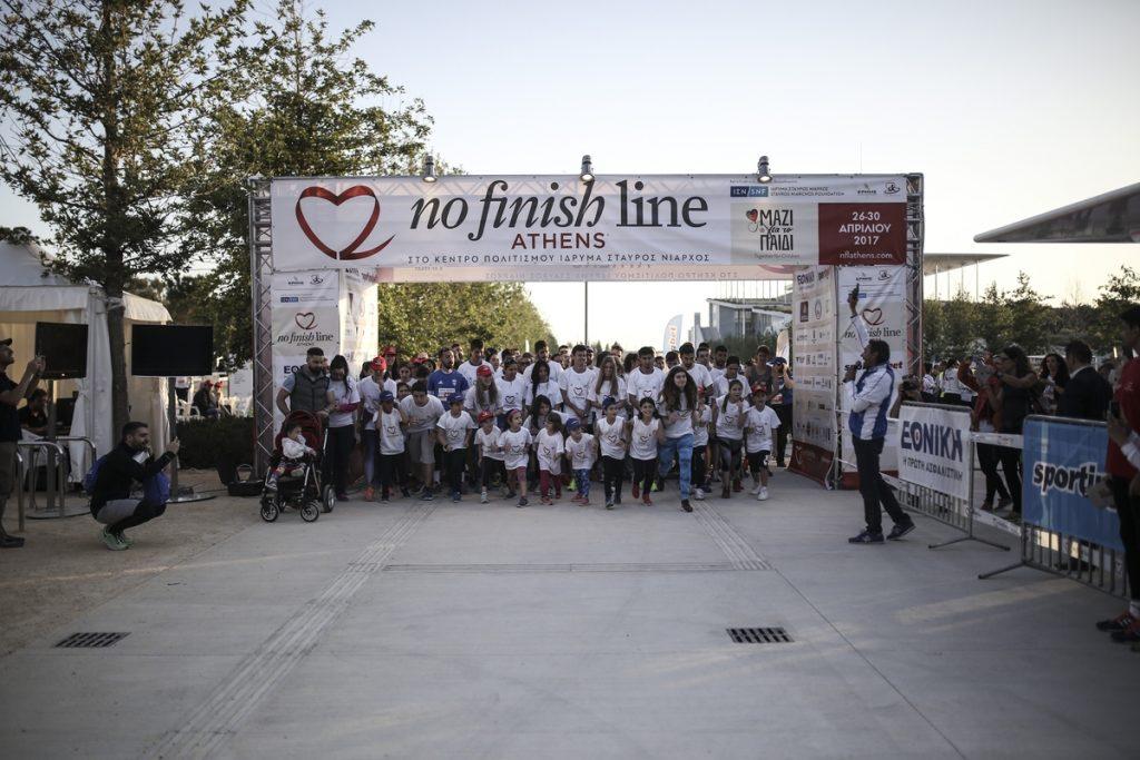 Τρέξε στον πρώτο Μαραθώνιο του No Finish Line Athens
