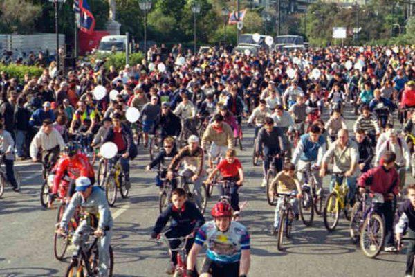 Ανοιξαν οι εγγραφές για τον 26ο Ποδηλατικό Γύρο Αθήνας