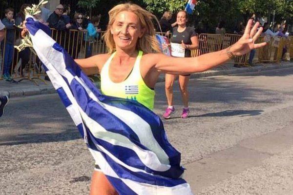 Η Μαρία Πολύζου πρέσβειρα των Αγώνων «OLYMPIANSRUNInternational»