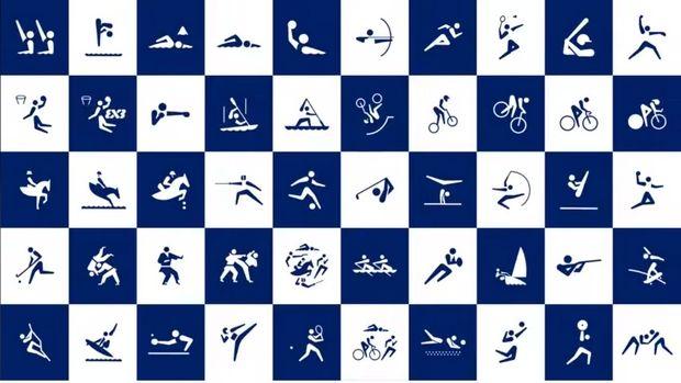 Τόκυο 2020:Τα σύμβολα των αθλημάτων