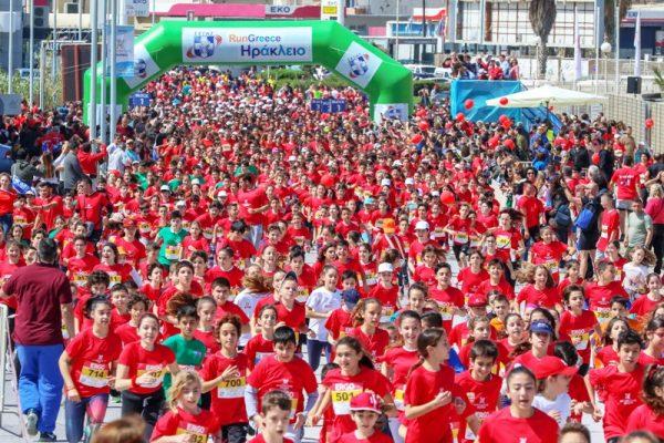 Ρεκόρ ο Ζερβάκης, 5 νίκες ο Τσολάκης στο Run Greece Ηράκλειο