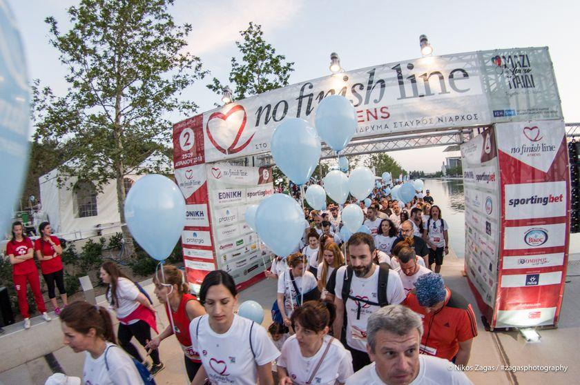 12.000 δρομείς τρέχουν στο No Finish Line για το Μαζί για το Παιδί