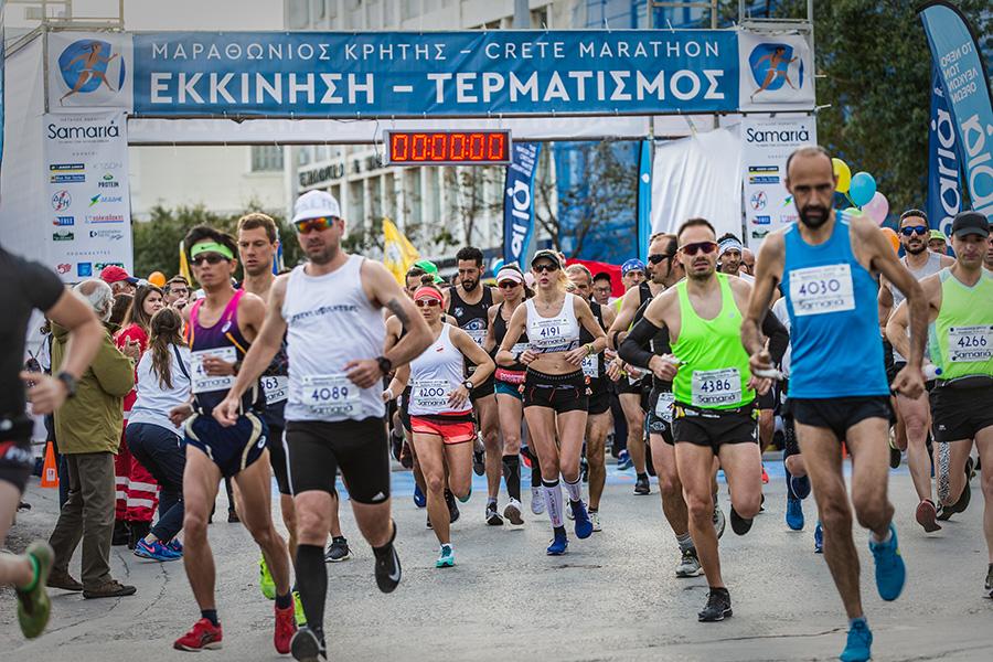 4ος Μαραθώνιος της Κρήτης: Μια δρομική γιορτή με μεγάλη συμμετοχή και επιτυχία