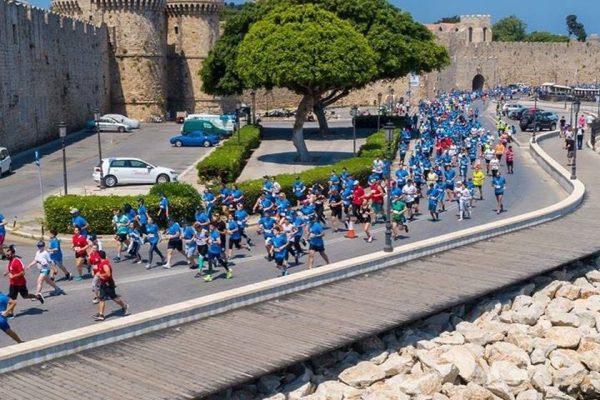 Ρεκόρ συμμετοχής χωρών στο Μαραθώνιο Ρόδου