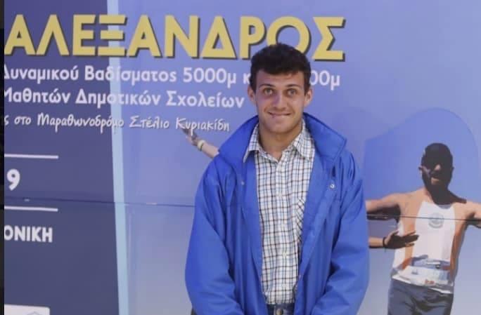 Ξανα στον Μαραθώνιο της Θεσσαλονίκης ο αθλητής με αυτισμό Νίκος Τουλίκας