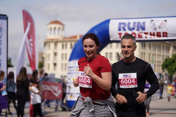 Όμορφες στιγμές από το Run Together Thessaloniki