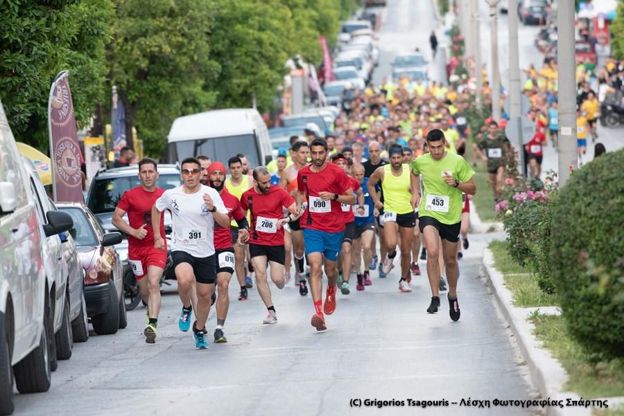 Ο Α.Ο. Φιλιατρών στο 1ο Sparta Nigtht Run