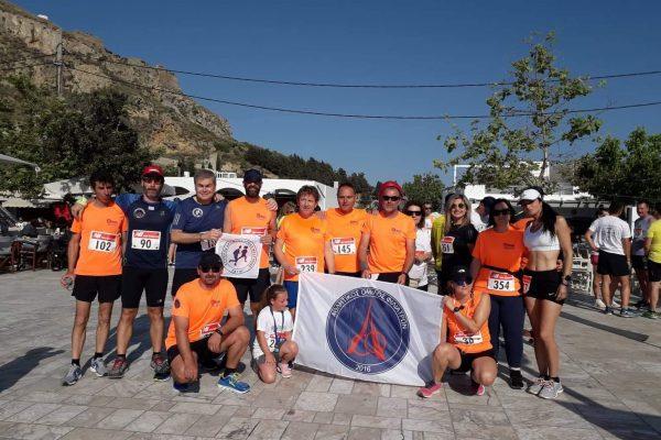 Ο Α.Ο. Φιλιατρών στο Skyros Run