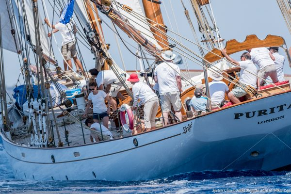 To Spetses Classic Yacht Regatta στην 9η του χρονιά πήρε το… Gold!