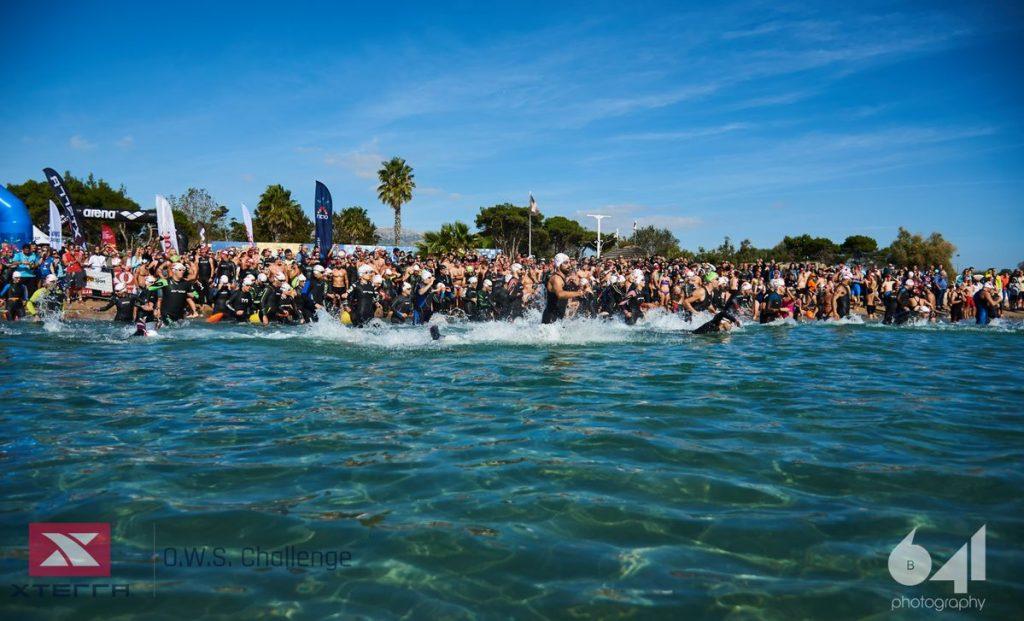 XTERRA O.W.S.Challenge 2019: Το αγωνιστικό κολύμπι στη θάλασσα στα καλλίτερά του