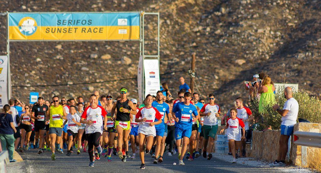 SERIFOS SUNSET RACE 2019