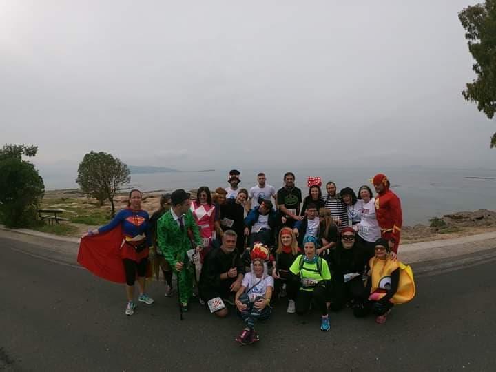 Οι Δρομείς Ελπίδας μεταμφιέστηκαν Super Heroes και εντυπωσιασαν στον «ΚΑΠΟΔΙΣΤΡΙΑ»