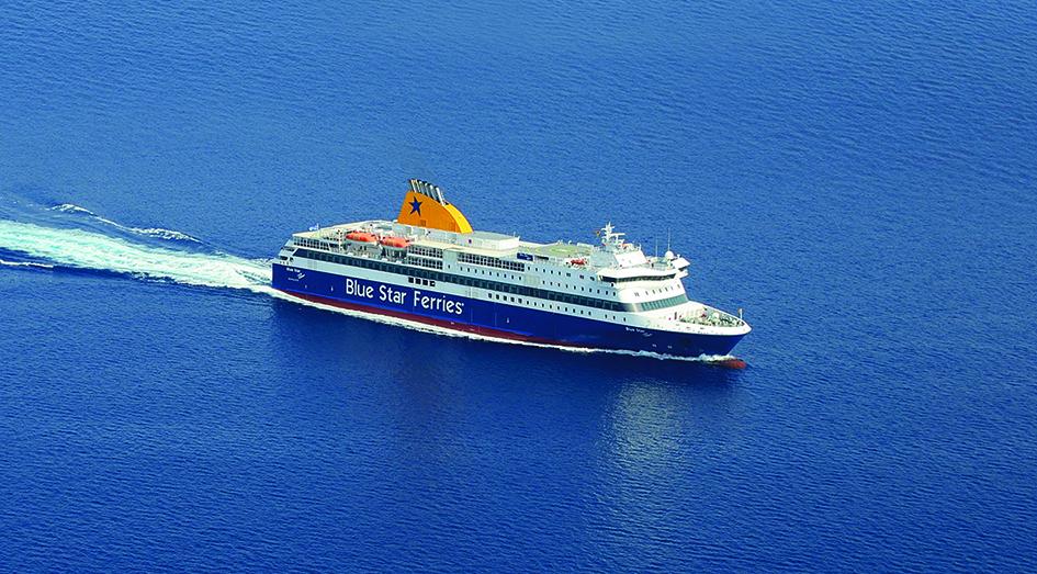 Η Blue Star Ferries χορηγός μεταφοράς του 4ου Amorgos Trail Challenge