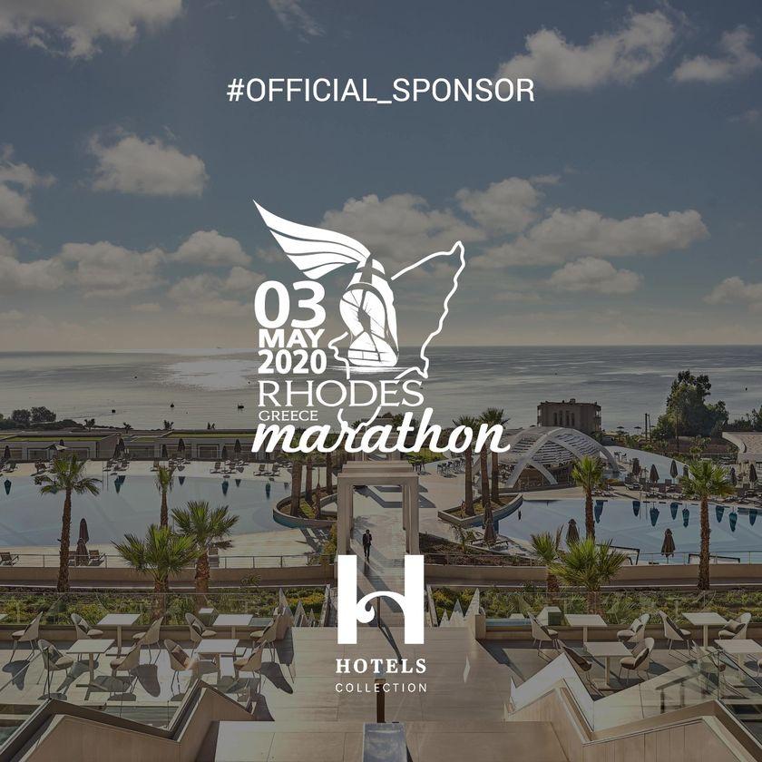 Ο Όμιλος H Hotels Collection Χρυσός χορηγός του Μαραθωνίου Ρόδου 2020