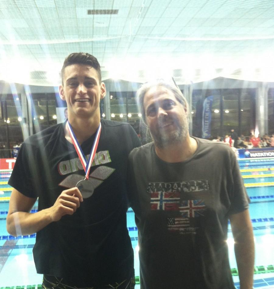 O Κωνσταντίνος Εγγλεζάκης προκρίθηκε στην κολύμβηση των Ολυμπιακών Αγώνων