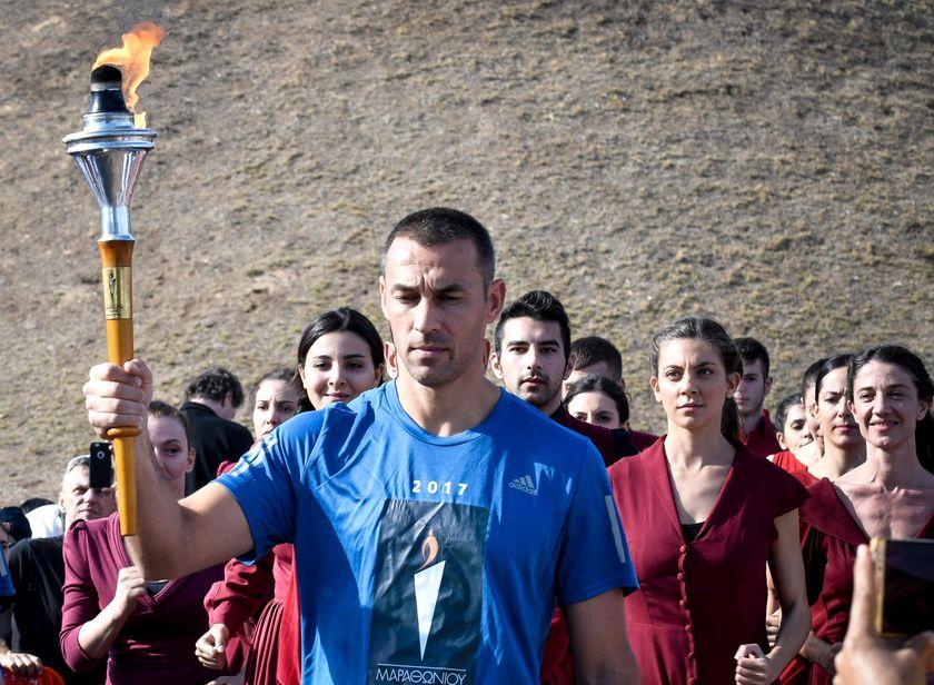 O Περικλής Ιακωβάκης πρεσβευτής του No Finish Line Athens 2020