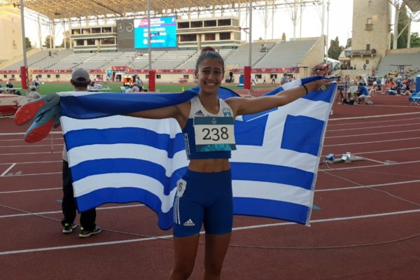 Πανελλήνιο Πρωτάθλημα: Η Ντραγκομίροβα έγινε η τρίτη Ελληνίδα όλων των εποχών στο ύψος συνθέτων