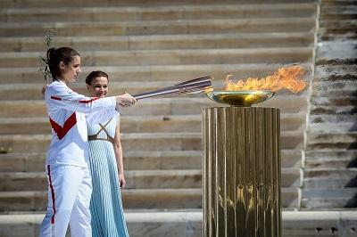 Η Ολυμπιακή Φλόγα ταξιδεύει για την Ιαπωνία