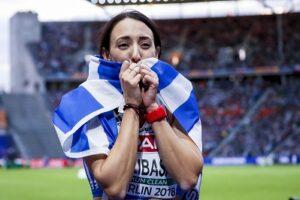 Η Μαρία Μπελιμπασάκη ετοιμάζεται για το Πανελλήνιο Πρωτάθλημα