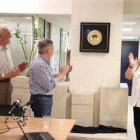 Στα γραφεία του ΣΕΓΑΣ το βραβείο της WA για τον Μαραθώνιο Αθήνας