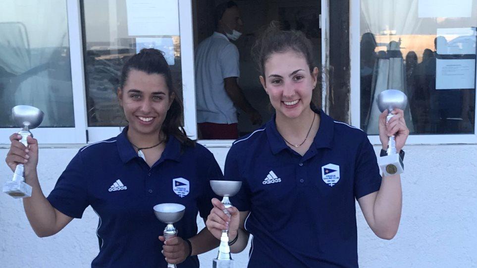 Ιστιοπλοΐα: Πρωταθλήτριες Ελλάδας οι Παππά - Τσαμοπούλου