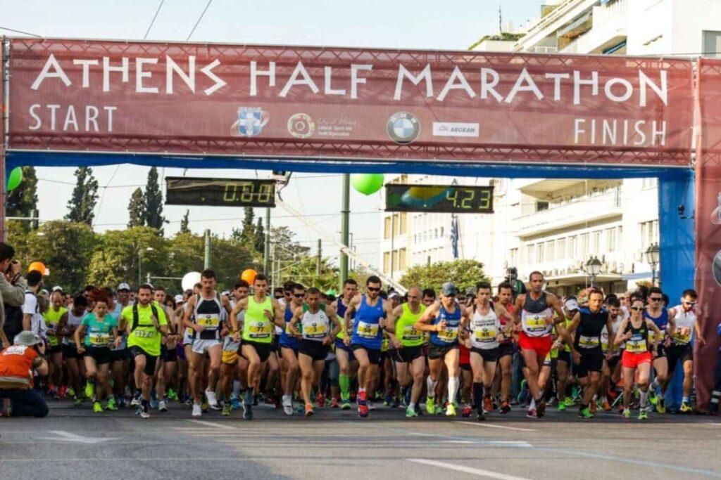 Ημιμαραθώνιος Αθήνας στις 23 Μαΐου 2021